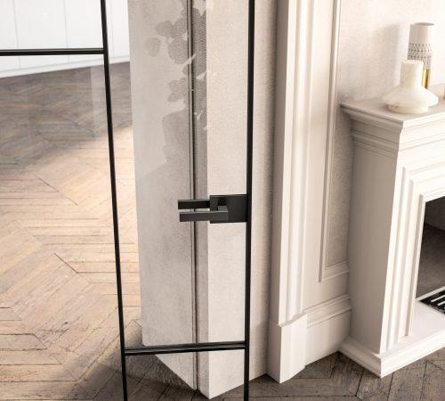 03_Collezione Grid vetro trasparente_dettaglio_maniglia Life